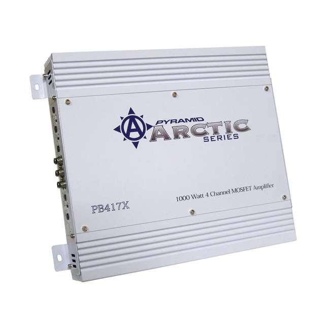PB417X Pyramid PB417X 4-Channel 1000W Amplifier