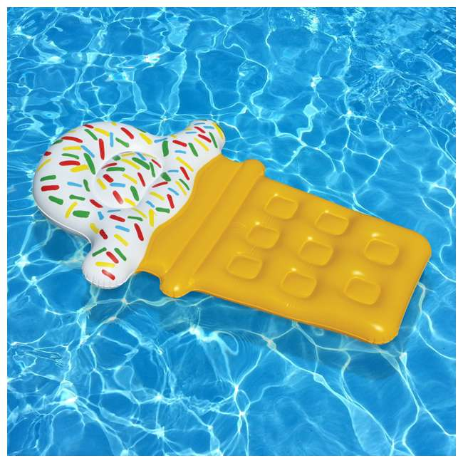 90642 Swimline Ice Cream Pool Float (2 Pack) 3