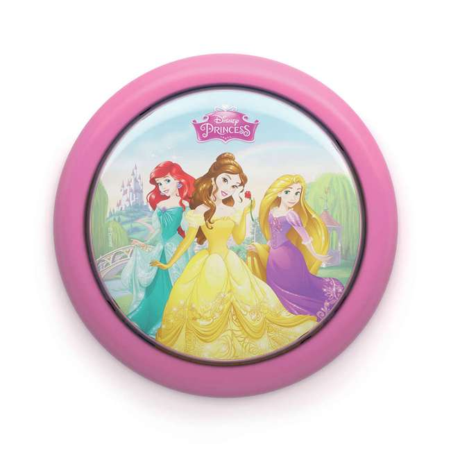 PLC-717692848 + PLC-7192428U0 Philips Disney Princess LED Nightlight with Projector and Push Touch Nightlight 2