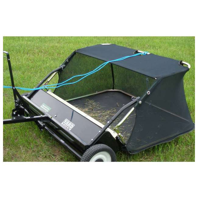 """YARD-YTF-38STQA Yard Tuff 38"""" Quick Assembly Tow Style Lawn Sweeper for Debris, Leaves, & More 3"""