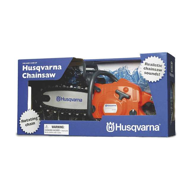 HV-CS-967651004 + HV-TOY-522771104 Husqvarna 445E 18 Inch Bar Gas Chainsaw and 440 Toy Childrens Chainsaw, Orange 11
