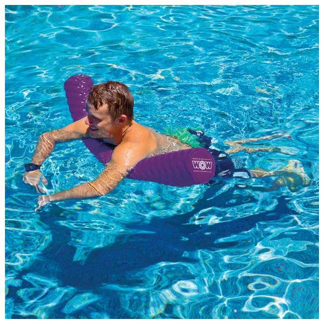 17-2070P WOW Watersports Soft Large Foam Pool Noodle, Purple 2