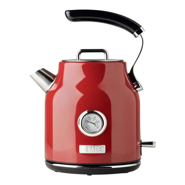 75000 + 75001 Haden Stainless Steel Retro Toaster & 1.7 Liter Stainless Steel Electric Kettle 1