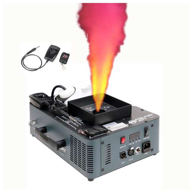 FOG-FURY-JETT American DJ Fog Fury Jett Fog Smoke Machine & LED Lights with Wireless Remote