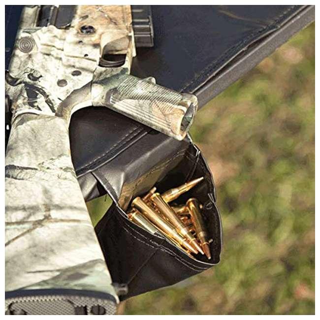 MUD-MSB300 Muddy MUD-MSB300 Swivel Action Shooting Sitting Gunrest Hunting Bench, Black 1
