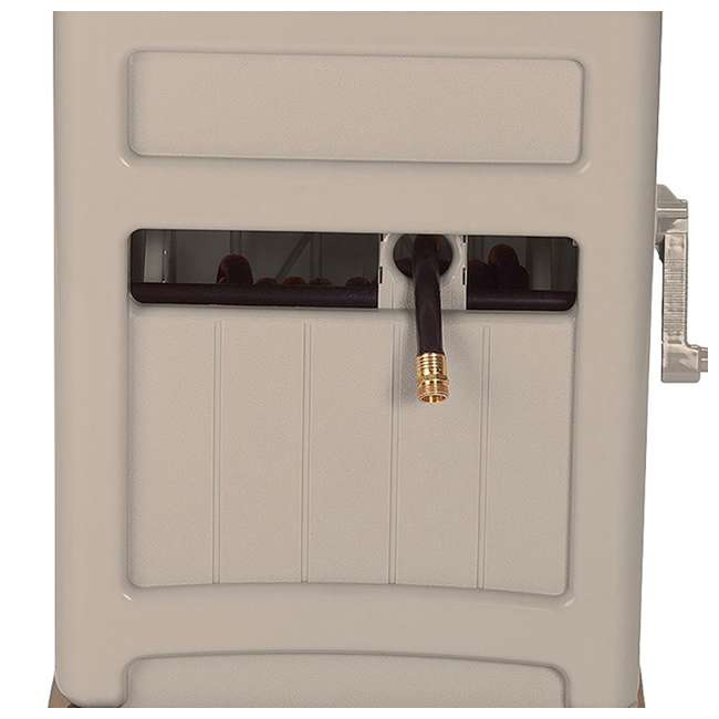 SSB200B Suncast  Swivel Hose Reel Hideaway w/ Hose Guide, Taupe     (Open Box) (2 Pack)  4