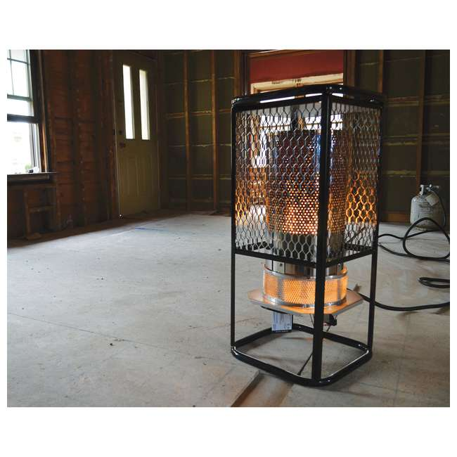 MH-F270800 Mr. Heater 125,000 BTU Portable Radiant Propane Gas Heater w/ Hose Regulator 1