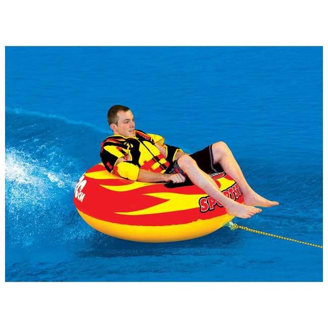 4 x 53-1116 Sportsstuff Sportstube VIP Towable Single Rider Water Tube (4 Pack) 1