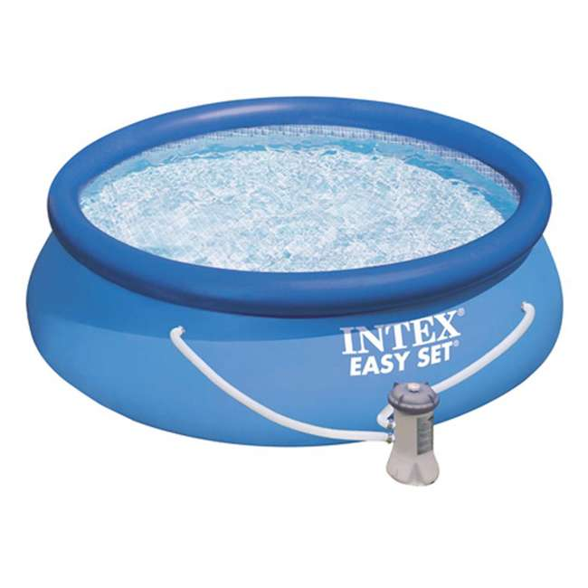 Intex 8 39 X 30 Easy Set Swimming Pool 330 Gph Filter Pump 28111eh