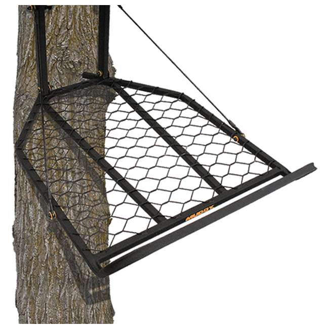 MUD-MFP1200 Muddy The Boss XL Wide Stance Hang On 1 Person Deer Hunting Tree Stand Platform 2