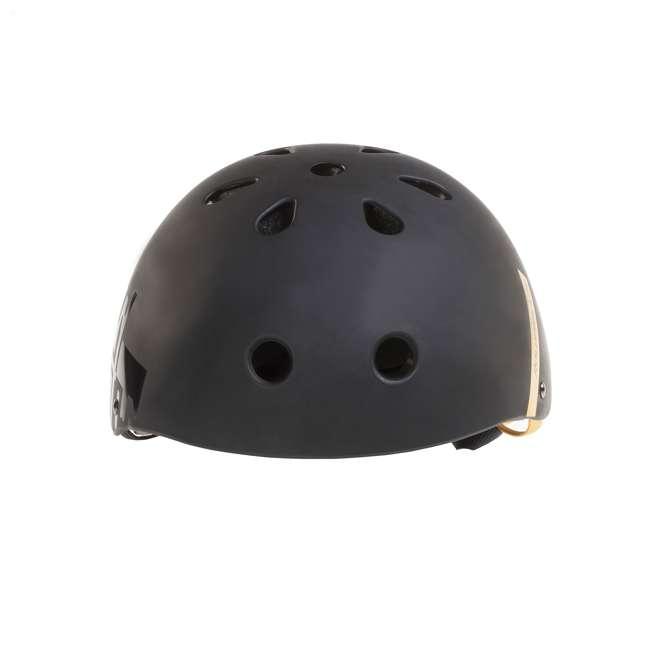 067H0310800-L Rollerblade USA Downtown Style Skate Helmet, Black 4