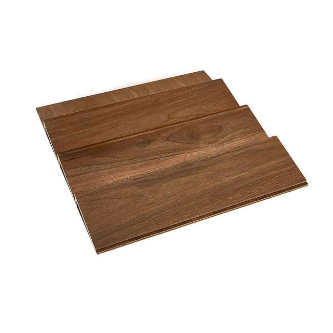 "4SDI-18-U-A Rev A Shelf 18"" Wood Spice Kitchen Drawer Insert, Maple (Open Box) (2 Pack)"