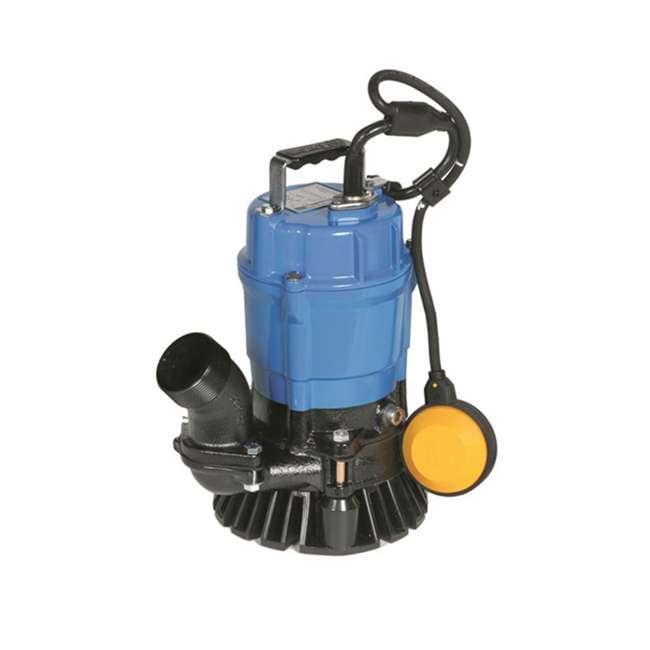 HSZ2.4S Tsurumi HSZ2.4S 1/2 HP Semi-Vortex Submersible Trash Pump