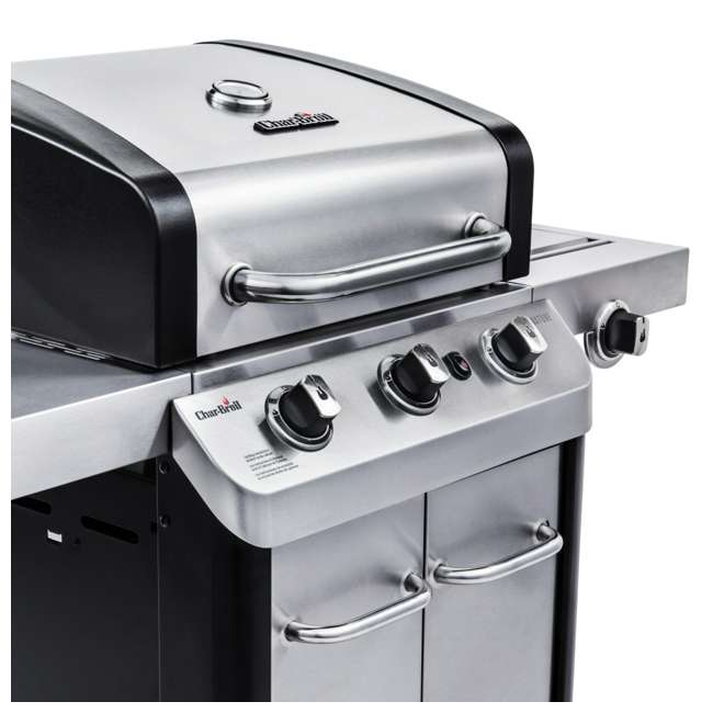 463372017-U-C Char Broil 3 Burner Stainless Steel 425 Square In Propane Gas Grill (For Parts) 7