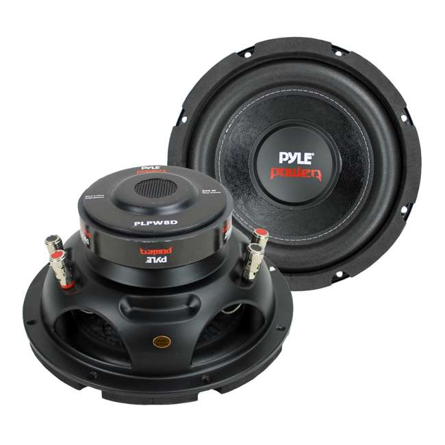 PLPW8D Pyle PLPW8D 8-Inch 1600 Watt Car Audio Subwoofers (Pair)