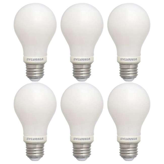 6 x SYL-74688 Sylvania Energy Efficient 40 W Equivalent LED Light Bulb, Soft White (6 Pack)