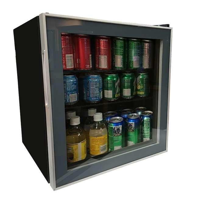 ARBC17T2PG-U-D Avanti ARBC17T2PG 1.6 Cubic Foot Beverage Refrigerator Mini Fridge (Damaged) 1