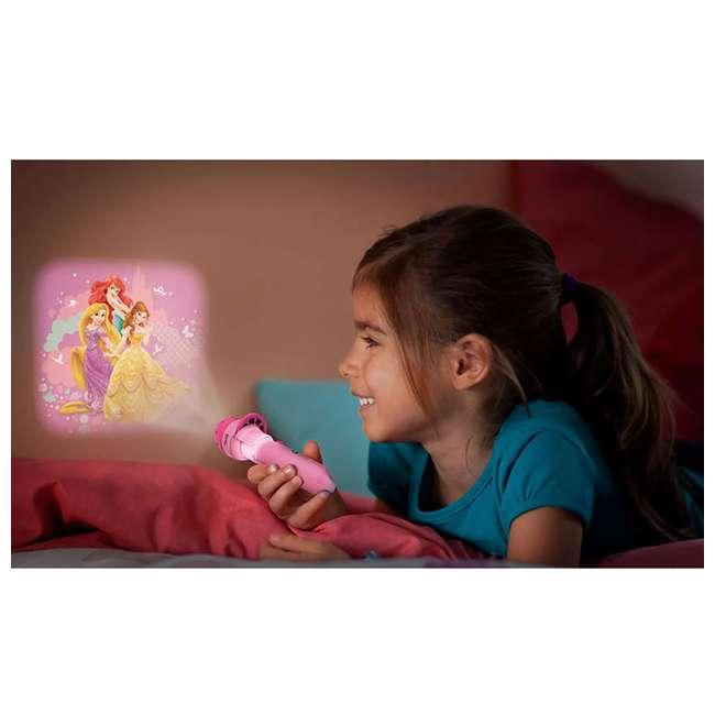 PLC-7179628U0 + PLC-7178828U0 Philips Disney Princess Lamp w/ Philips Disney Princess Projector Flash Light 4