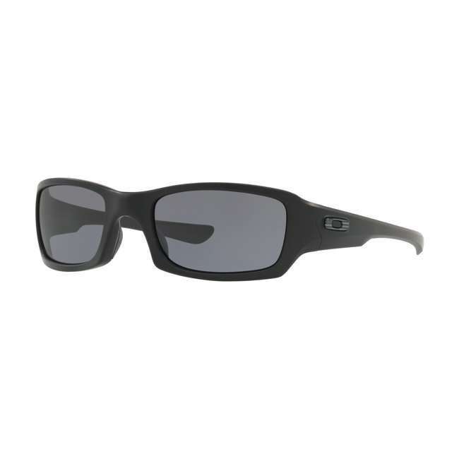 OO9238-3354 Oakley OO9238-3354 SI Fives Squared Flag Collection Sunglasses, MatteBlack/Grey