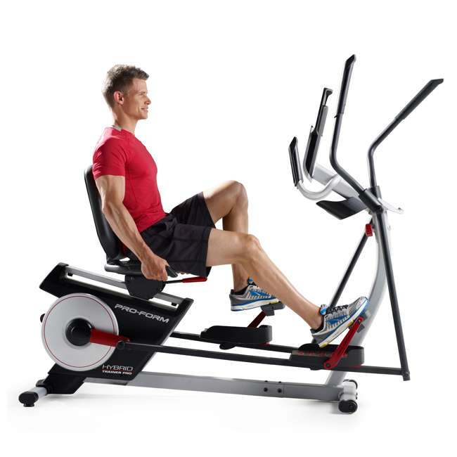 ProForm Hybrid Trainer Pro Exercise Bike & Elliptical
