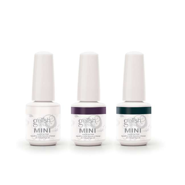 1900201-MARILYN3P-1 Gelish Mini Soak Off Gel Nail Polish Forever Marilyn Collection 3 Colors, 9mL