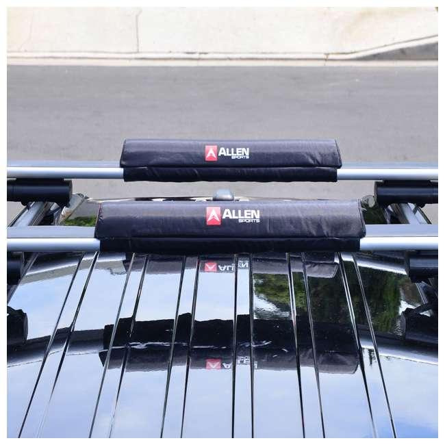 7010SU Allen Sports 24-Inch Rooftop Surfboard Rack Set (2 Pack) 3