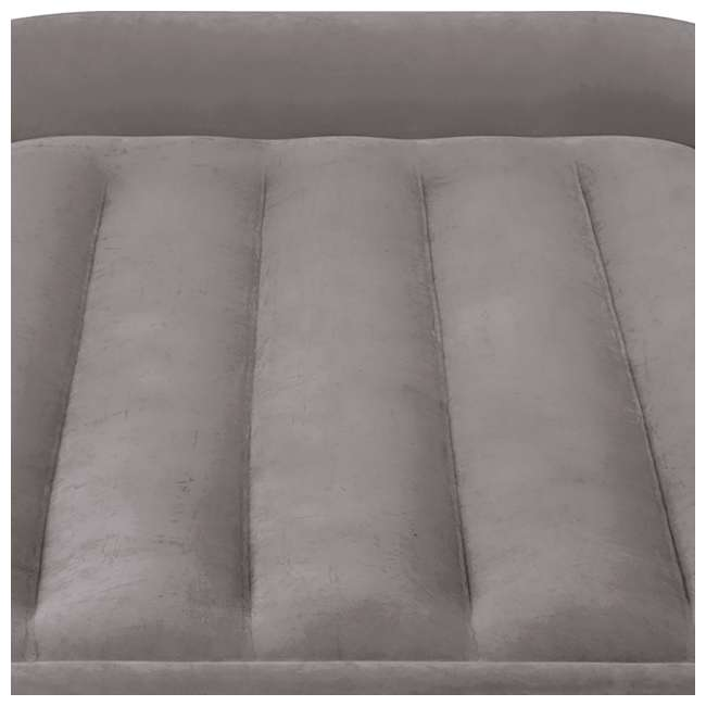 64131EP-U-A Intex Deluxe Pillow Rest Raised Airbed w/ Built in Pump, Twin(Open Box) (2 Pack) 3