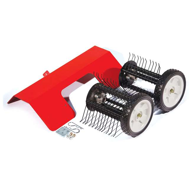 EARTH-DK43-U-C Earthquake DK43 Lawn Grass Dethatcher Kit for Mini Cultivator Tiller (For Parts)