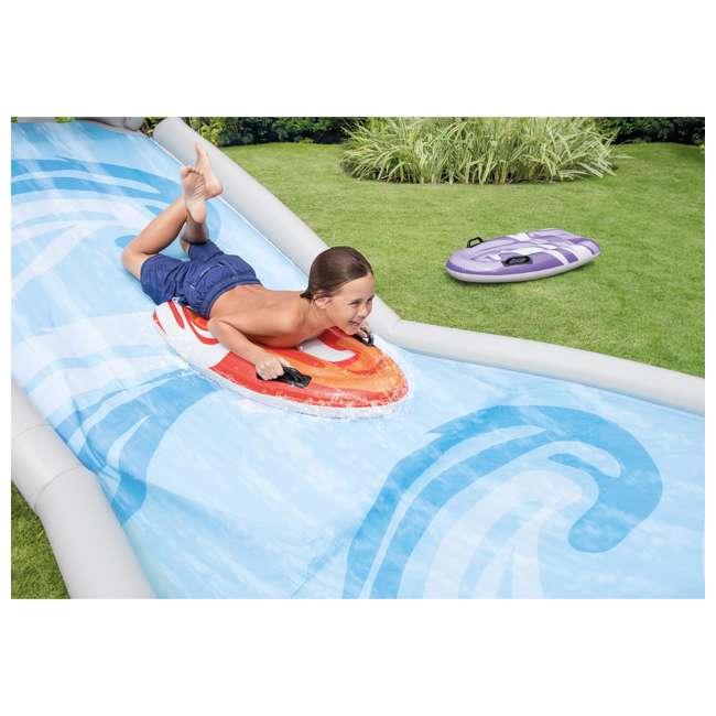 6 x 57159EP-U-A Intex Surf 'N Slide Inflatable Kids Water Slide w/ Surf Riders(Open Box)(6 Pack) 3