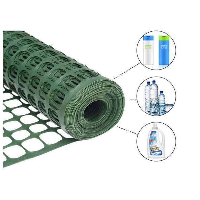 APSF4100G-U-A Abba Patio 4 x 100 Feet Recyclable Plastic Netting (Open Box) 3