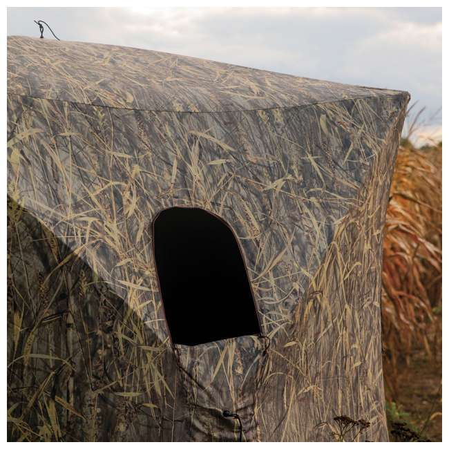 BARR-GR351BB Barronett Grounder 350 Bloodtrail Blades Lightweight Pop Up Ground Hunting Blind 5