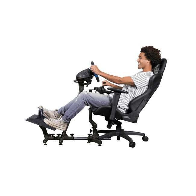 VELOCITA-BLACK Arozzi Velocità Gaming Racing Simulator Stand – White 5