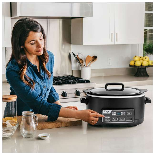 MC760_EGB-BK-RB-U-B Ninja 6 Quart Programmable Multi Cooker Plus (Certified Refurbished) (Used) 4