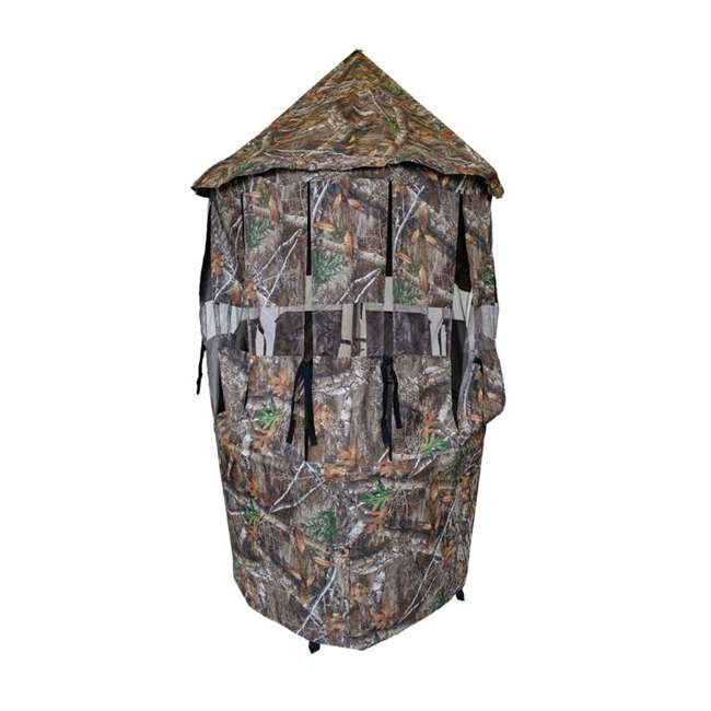 BM5119 Cooper Hunting BM5119 Bow Master RealTree Concealment Cover w/ TM100 Tree Mount