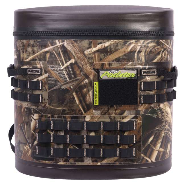 ORCPDSTRRTM5-U-B Orca Podster Realtree Max 14.25 Quart 12 Can Ice Cooler, Camo Green (Used) 2