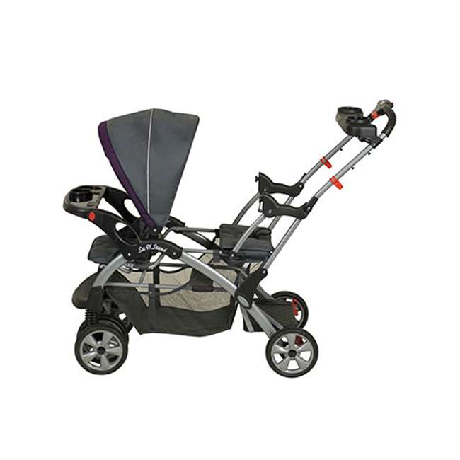 Baby trend sit n stand double travel system elixer