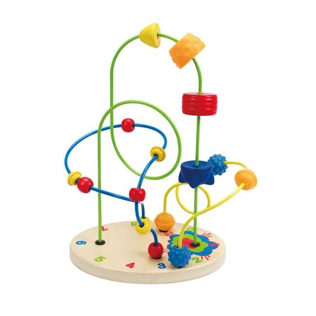 HAP-E1806 Hape Children's Countdown Activity Wooden Bead Maze Toy 1