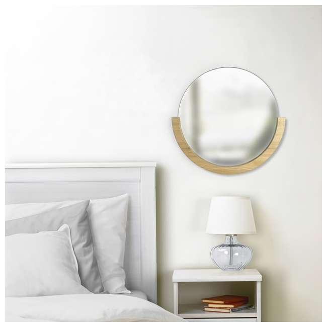 358778-390 Umbra Mira Mirror, Natural 3