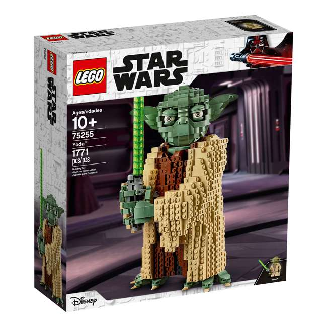 6251762 LEGO Star Wars 75255 Yoda 1771 Piece Block Building Kit w/ 1 minifigure 1