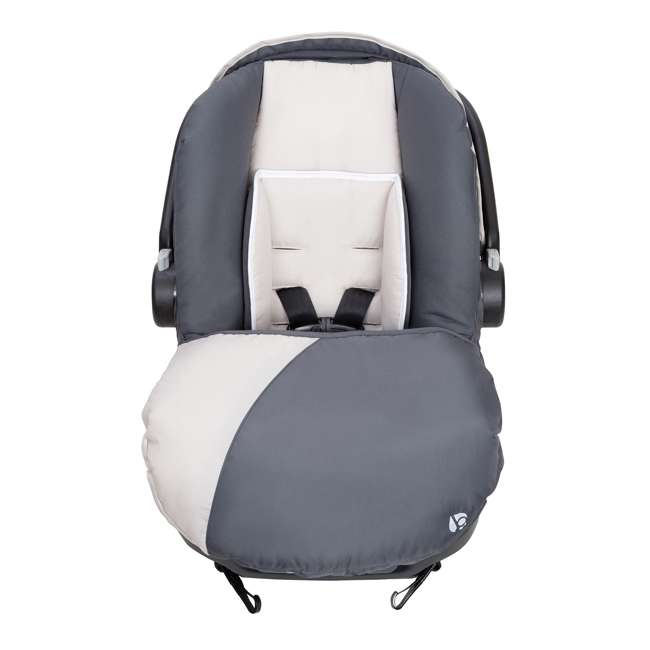 CS79C81A Baby Trend Ally Adjustable 35 Pound Infant Baby Car Seat and Base (2 Pack) 5