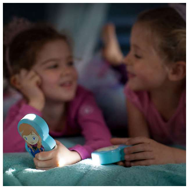PLC-7176737U0 Philips Battery-Powered LED Disney Frozen Anna Flashlight, 2-Count 5