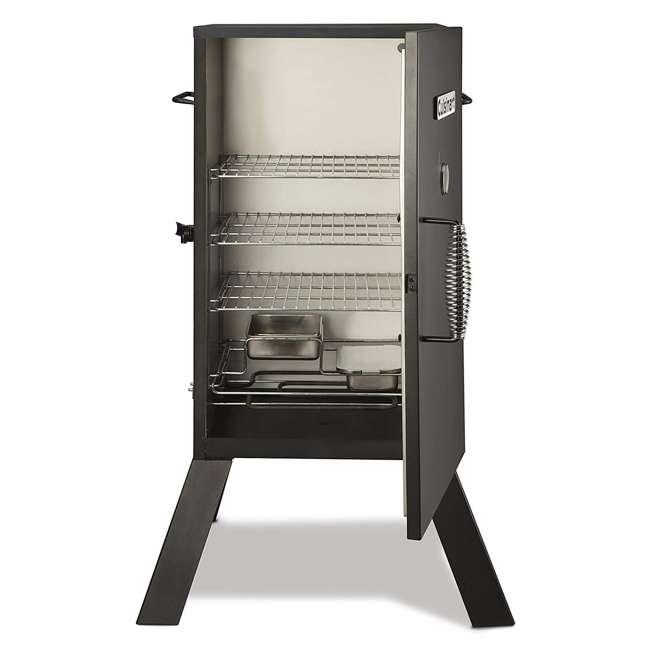 COS-330 Cuisinart 30 Inch 1500 Watt Portable Electric Smoker Grill w/ 2 Handles, Black 1