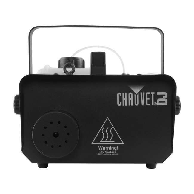 H1600 + 2 x BLACK-48BLB Chauvet DJ Hurricane Fog Machine with Remote & American DJ Blacklight (2 Pack) 5