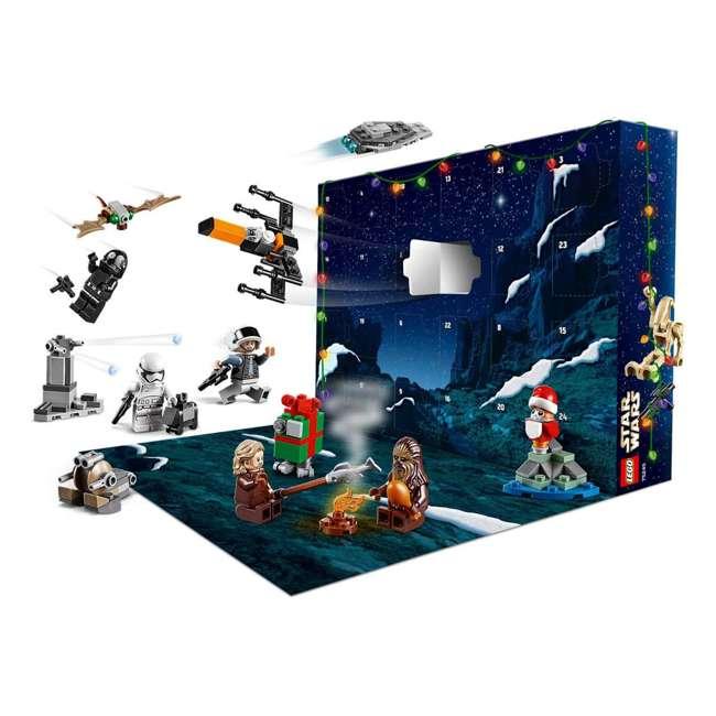6251914 LEGO 75245 Star Wars 2019 Advent Calendar Block Building Kit w/ 6 Minifigures 6