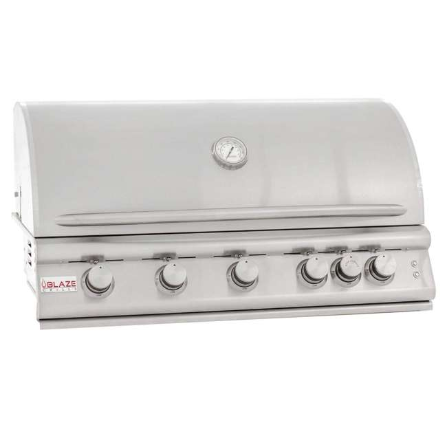 BLZ-5LTE2-LP-OB-U-a Blaze Built-In Grill with Lights, 40-inch, Propane Gas (Open Box)