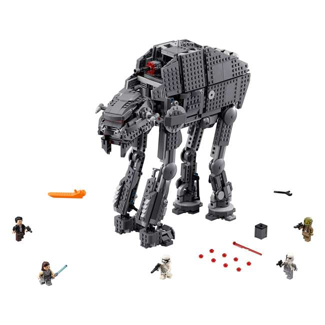 6224296 LEGO Star Wars First Order Heavy Assault Walker Building Kit with 5 Minifigures