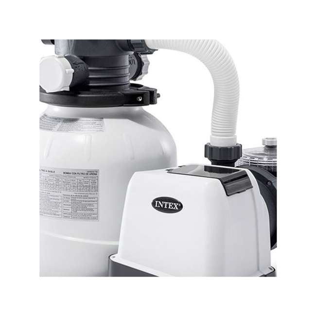 26645EG + 26669EG Intex Pool Sand Filter Pump w/Krystal Clear Saltwater System 5