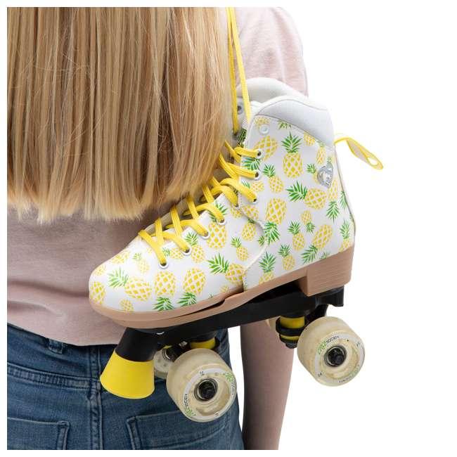 168219 Circle Society Craze Crushed Pineapple Kids Skates, Sizes 3 to 7 6