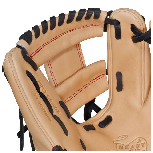 PRO312-2CB Rawlings Heart of the Hide 11.25-Inch Infield Adult Baseball Glove 3