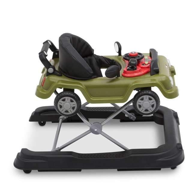 22408-348 Jeep Classic Wrangler 3 in 1 Activity Baby Walker & Toy Car, Anniversary Green 4